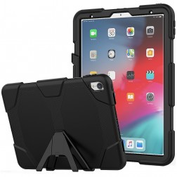 Pastiprinātas aizsardzības apvalks - melns (iPad Pro 11)