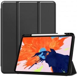 """""""Stylus"""" atvēramais maciņš - melns (iPad Pro 12.9"""" 2020 / 2018)"""