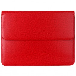 """Ādas ieliktņa planšetdatoram - sarkana (13"""" planšetdatoriem)"""