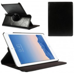 Atvēramais 360° futrālis, maciņš - melns (iPad Air 2)
