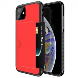 """Dux Ducis"" Pocard apvalks - sarkans (iPhone 11)"