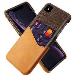 """""""KSQ"""" Shell ādas apvalks - brūns (iPhone 11)"""