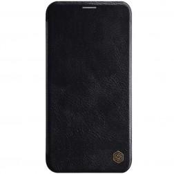 """""""Nillkin"""" Qin atvēramais maciņš - melns (iPhone 11)"""