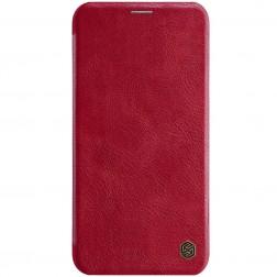"""""""Nillkin"""" Qin atvēramais maciņš - sarkans (iPhone 11)"""