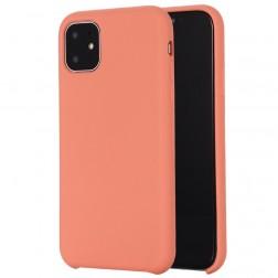 Cieta silikona (TPU) apvalks - oranžs (iPhone 11)