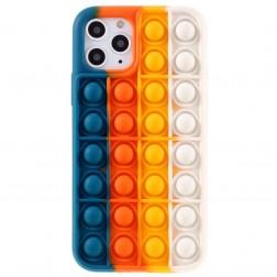 """Popit"" Bubble mīksta silikona (TPU) apvalks - zils (iPhone 11 Pro)"