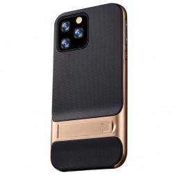 """Kickstand"" apvalks - zelta (iPhone 11 Pro)"