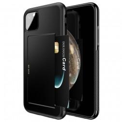 """""""Dux Ducis"""" Pocard apvalks - melns (iPhone 11 Pro)"""