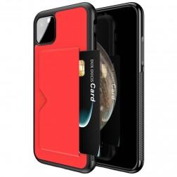 """""""Dux Ducis"""" Pocard apvalks - sarkans (iPhone 11 Pro)"""