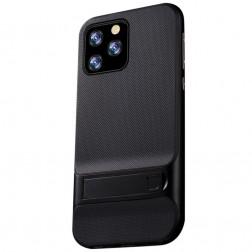 """Kickstand"" apvalks - melns (iPhone 11 Pro)"