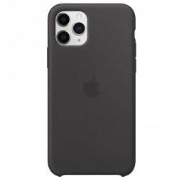 "Oficiāls ""Apple"" Silicone Case apvalks - melns (iPhone 11 Pro)"