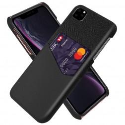 """KSQ"" Shell ādas apvalks - melns (iPhone 11 Pro)"