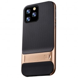 """Kickstand"" apvalks - zelta (iPhone 11 Pro Max)"