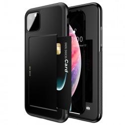 """""""Dux Ducis"""" Pocard apvalks - melns (iPhone 11 Pro Max)"""