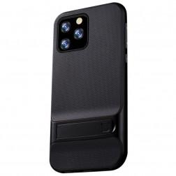 """Kickstand"" apvalks - melns (iPhone 11 Pro Max)"