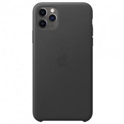 "Oficiāls ""Apple"" Silicone Case apvalks - melns (iPhone 11 Pro Max)"