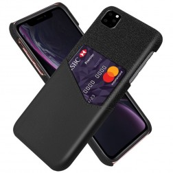 """KSQ"" Shell ādas apvalks - melns (iPhone 11 Pro Max)"