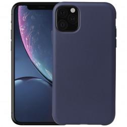 Cieta silikona (TPU) apvalks - zils (iPhone 11 Pro Max)