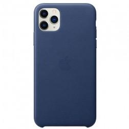 "Oficiāls ""Apple"" Silicone Case apvalks - zils (iPhone 11 Pro Max)"