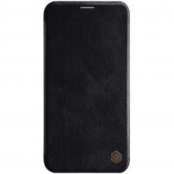 """Nillkin"" Qin atvēramais maciņš - melns (iPhone 11 Pro Max)"