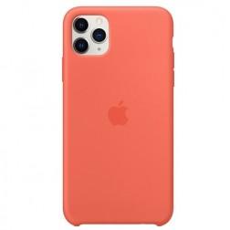 """Oficiāls """"Apple"""" Silicone Case apvalks - oranžs (iPhone 11 Pro Max)"""