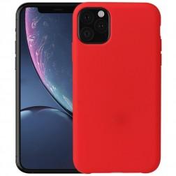Cieta silikona (TPU) apvalks - sarkans (iPhone 11 Pro Max)