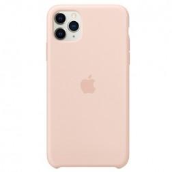 "Oficiāls ""Apple"" Silicone Case apvalks - rozs (iPhone 11 Pro Max)"