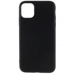 """Shell"" cieta silikona (TPU) apvalks - melns (iPhone 11 Pro Max)"