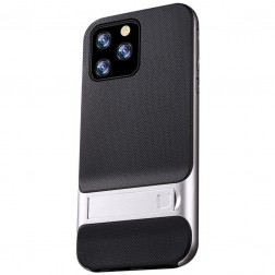 """Kickstand"" apvalks - sudrabs (iPhone 11 Pro Max)"