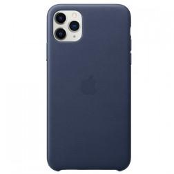 "Oficiāls ""Apple"" Silicone Case apvalks - tumši zils (iPhone 11 Pro Max)"