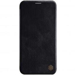 """Nillkin"" Qin atvēramais maciņš - melns (iPhone 11 Pro)"