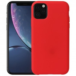 Cieta silikona (TPU) apvalks - sarkans (iPhone 11 Pro)