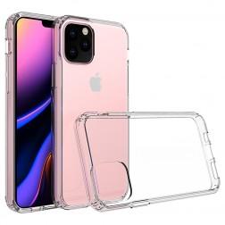 Cieta silikona (TPU) akrils apvalks - dzidrs (iPhone 11 Pro)