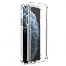 Pilnīgi aizsedzams TPU apvalks - dzidrs (iPhone 11 Pro)