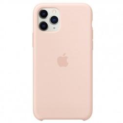 "Oficiāls ""Apple"" Silicone Case apvalks - gaiši rozā (iPhone 11 Pro)"