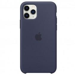 "Oficiāls ""Apple"" Silicone Case apvalks - tumši zils (iPhone 11 Pro)"