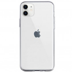 Cieta silikona (TPU) apvalks - dzidrs (iPhone 11)