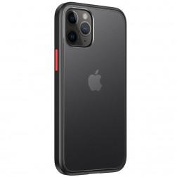 """IPAKY"" Specter apvalks - dzidrs, melns (iPhone 12 / 12 Pro)"