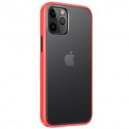 """""""IPAKY"""" Specter apvalks - dzidrs, sarkans (iPhone 12 / 12 Pro)"""