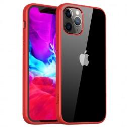 """IPAKY"" Royal apvalks - dzidrs, sarkans (iPhone 12 Mini)"