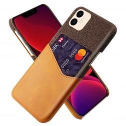 """KSQ"" Shell ādas apvalks - brūns (iPhone 12 Mini)"