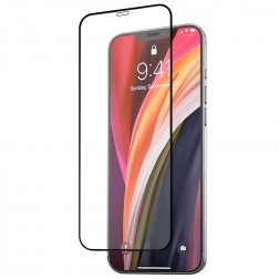 """Mocolo"" 3D Tempered Glass ekrāna aizsargstikls 0.26 mm - melns (iPhone 12 Mini)"