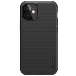 """Nillkin"" Frosted Shield Pro apvalks - melns (iPhone 12 Mini)"