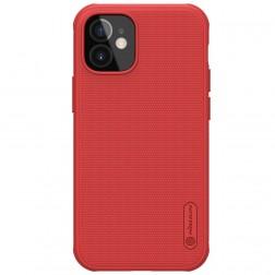 """Nillkin"" Frosted Shield Pro apvalks - sarkans (iPhone 12 Mini)"