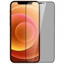 """""""Nillkin"""" Tempered Glass melns ekrāna aizsargstikls 0.26 mm - privāta (iPhone 12 Mini)"""
