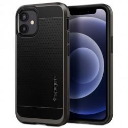 """Spigen"" Neo Hybrid apvalks - melns (iPhone 12 Mini)"