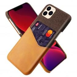 """KSQ"" Shell ādas apvalks - brūns (iPhone 12 / 12 Pro)"