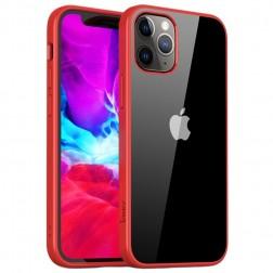 """IPAKY"" Royal apvalks - dzidrs, sarkans (iPhone 12 Pro Max)"
