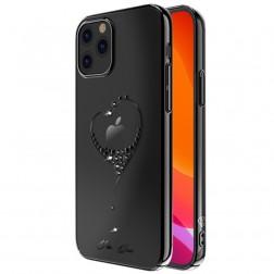 """Kingxbar"" Love Swarovski apvalks - melns (iPhone 12 Pro Max)"