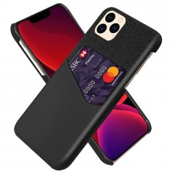"""KSQ"" Shell ādas apvalks - melns (iPhone 12 Pro Max)"